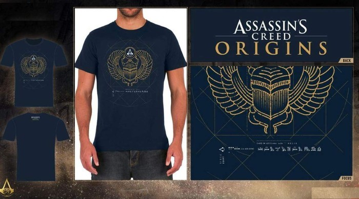 Assassin's Creed Origins rövid ujjú póló