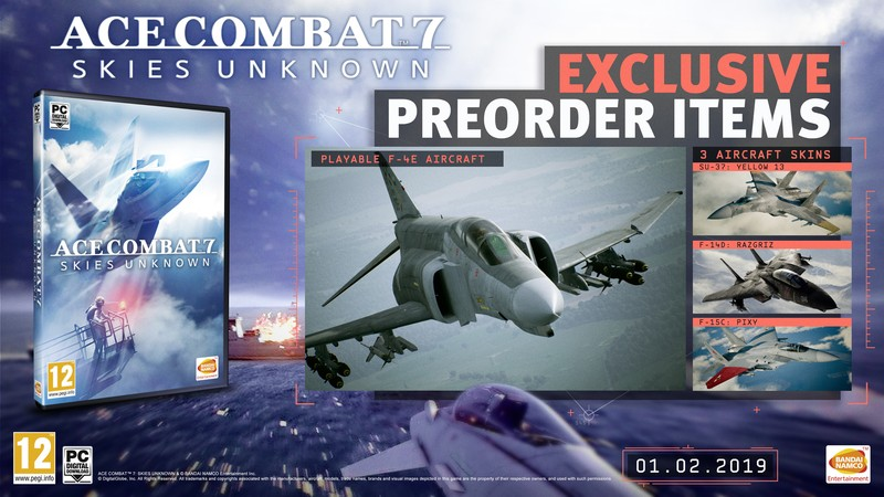 Ace Combat 7: Skies Unknown DLC