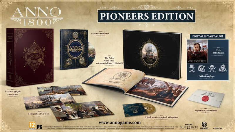 Anno 1800 Collectors Edition (Pioneers Edition)