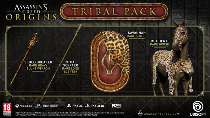 Assassin's Creed Origins Tribal Pack DLC