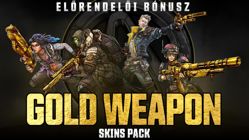 Gold Weapon Skins Pack DLC