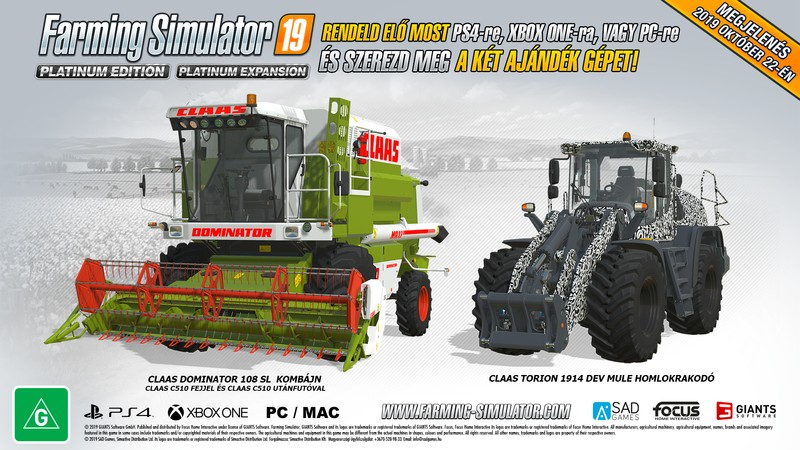 Farming Simulator 19 DLC