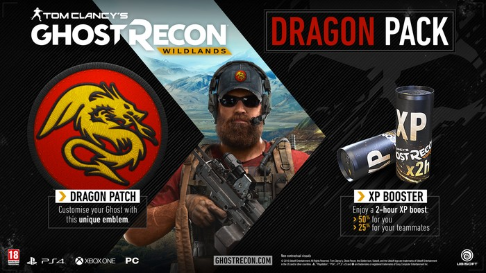 Ghost Recon Wildlands Dragon Pack ULC