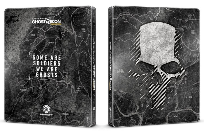 Ghost Recon Wildlands Steelbook