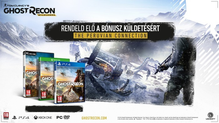 Ghost Recon Wildlands The Peruvian Connection DLC