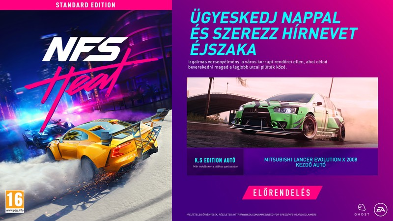 Need for Speed Heat DLC