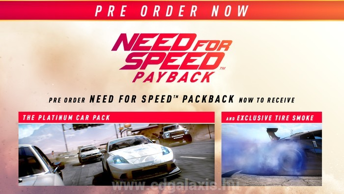 Need for Speed Payback Platinum Car Pack DLC