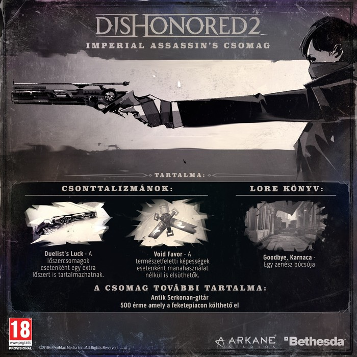 Dishonored 2 DLC
