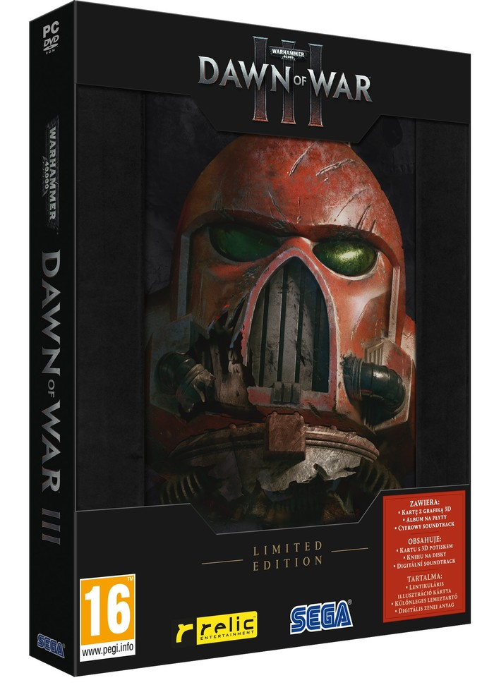 Warhammer 40000 Dawn of War 3 Limited Edition 3D