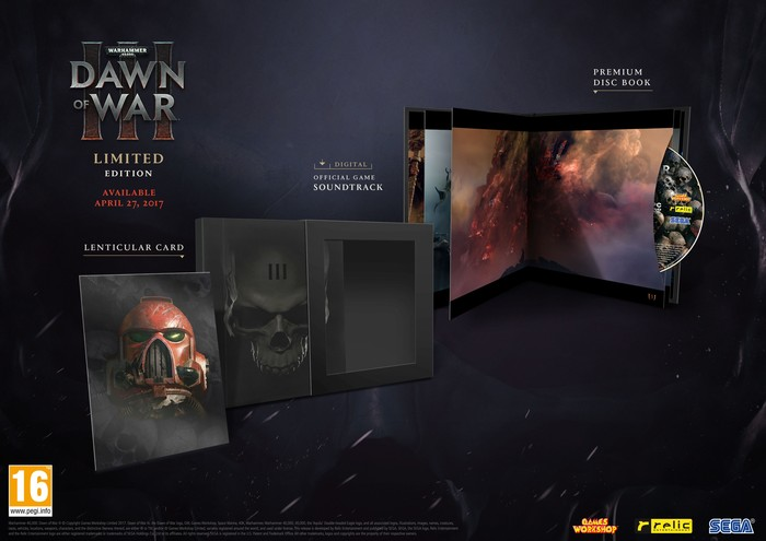 Warhammer 40000 Dawn of War 3 Limited Edition