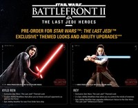 Star Wars Battlefront II The Last Jedi Heroes DLC