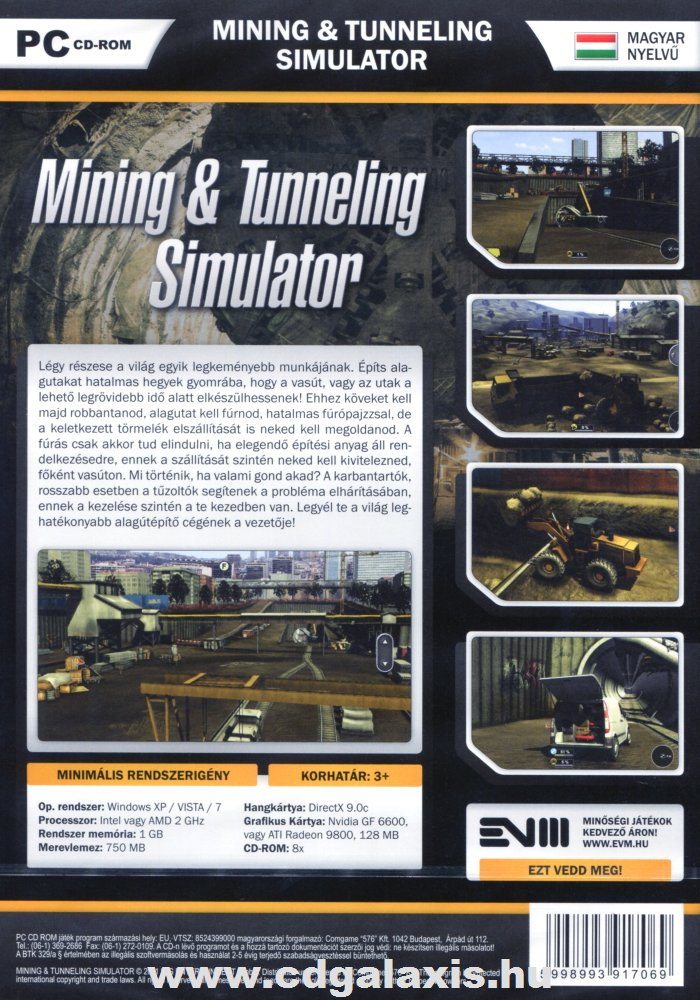 Mining tunneling simulator cd key
