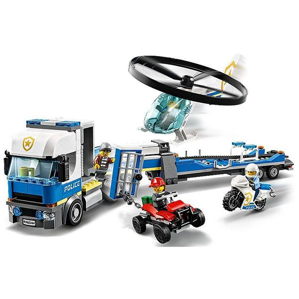 LEGO City: Rend�rs�gi helikopteres sz�ll�t�s 60244 1