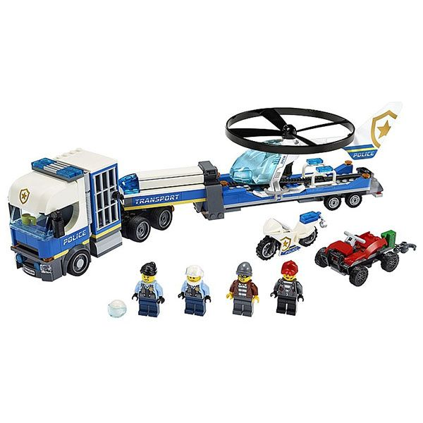 LEGO City: Rend�rs�gi helikopteres sz�ll�t�s 60244 2