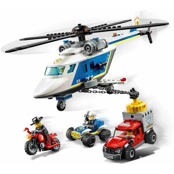 LEGO City: Rend�rs�gi helikopteres �ld�z�s 60243 1
