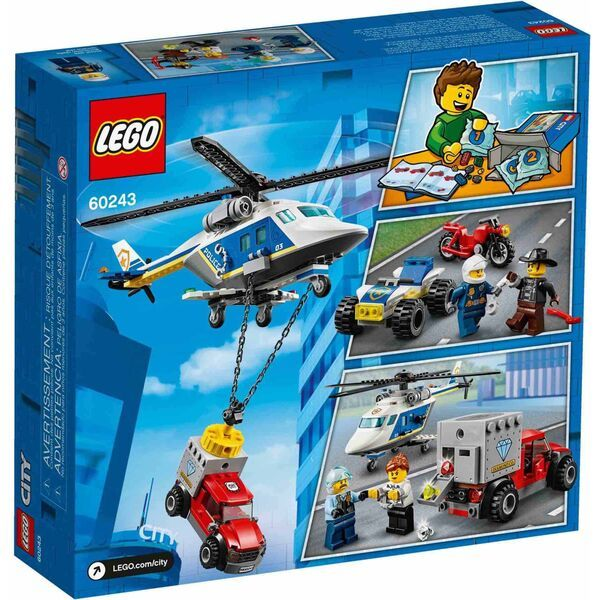 LEGO City: Rend�rs�gi helikopteres �ld�z�s 60243 2