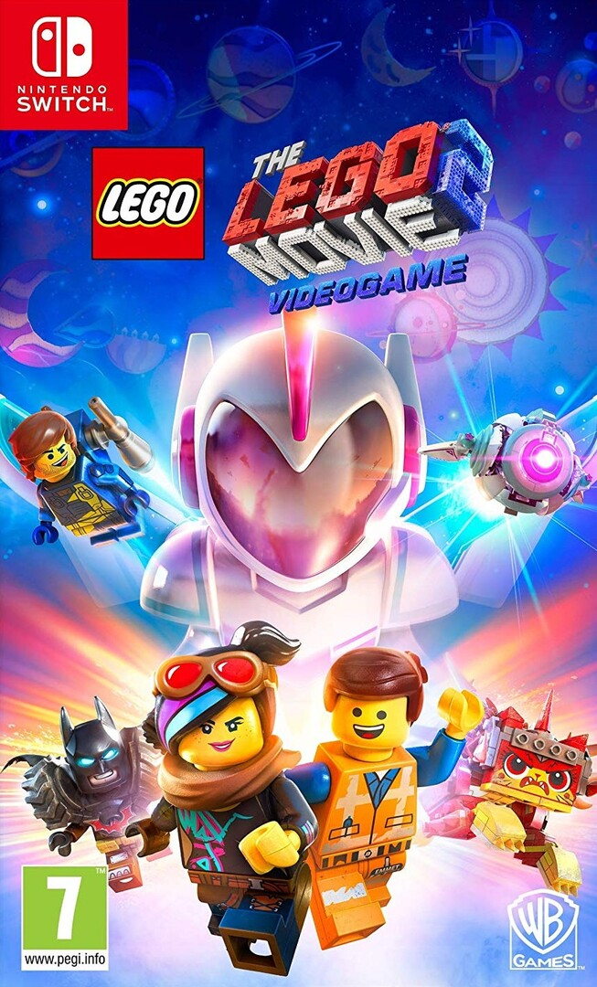 Switch LEGO Movie 2 Videogame borítókép