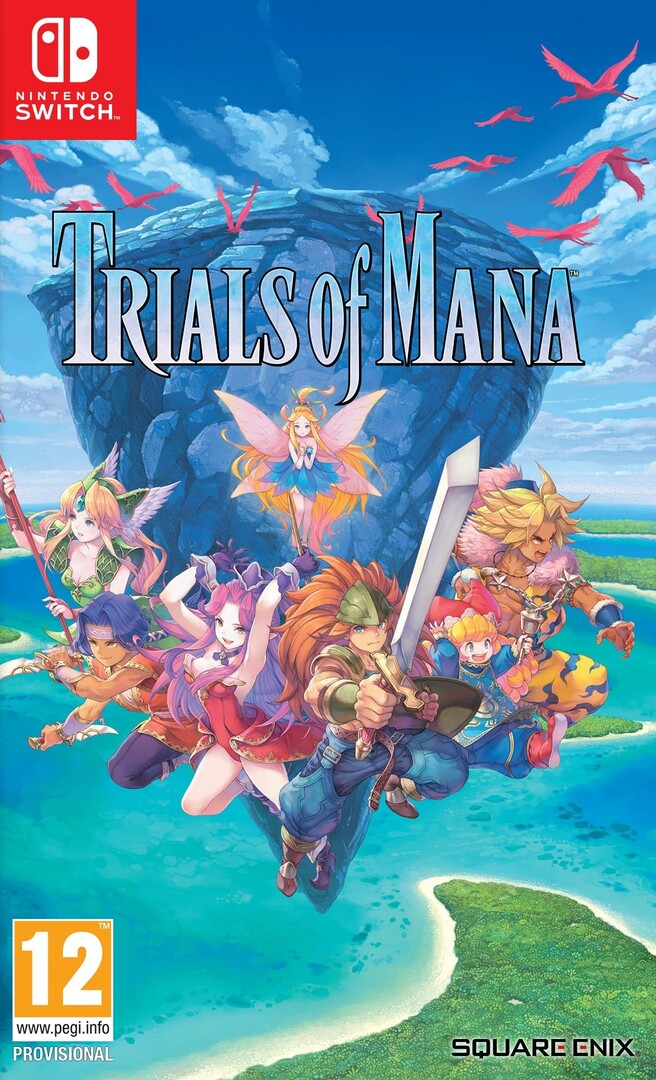 Switch Trials of Mana borítókép