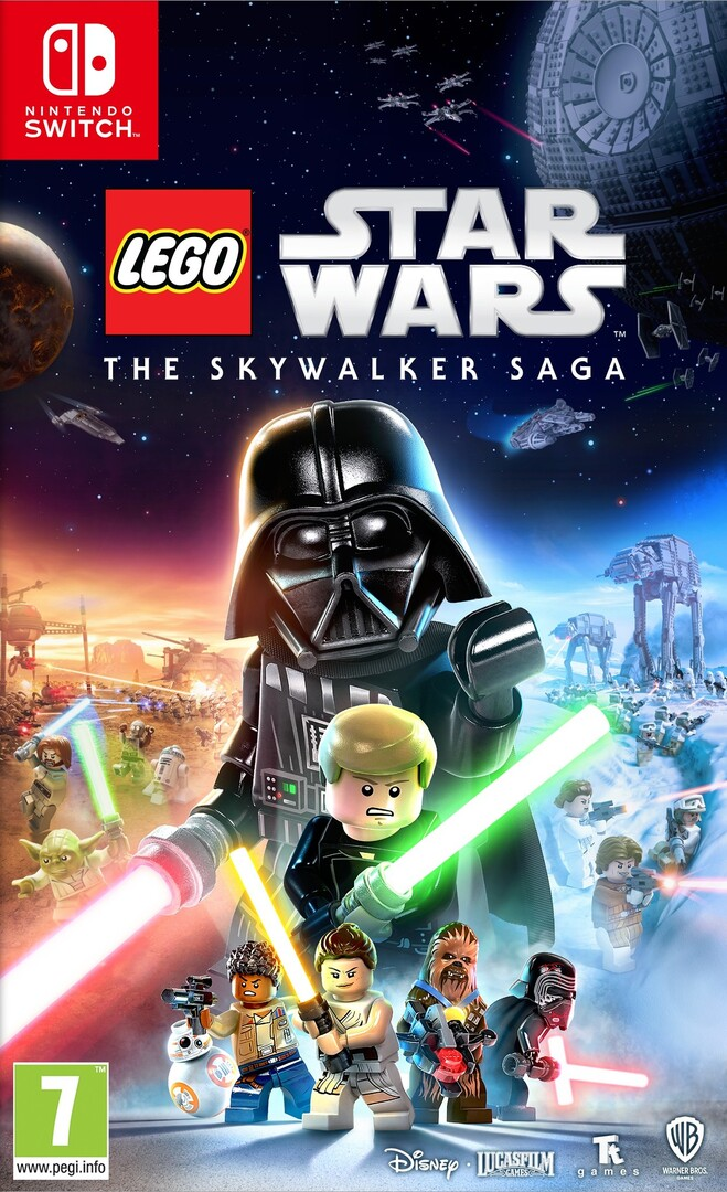 Switch LEGO Star Wars: The Skywalker Saga borítókép