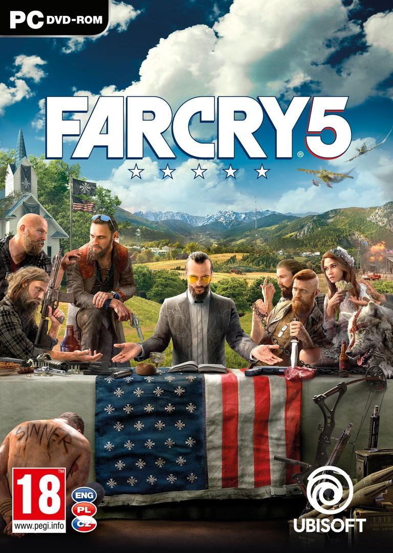 PC játék Far Cry 5 borítókép