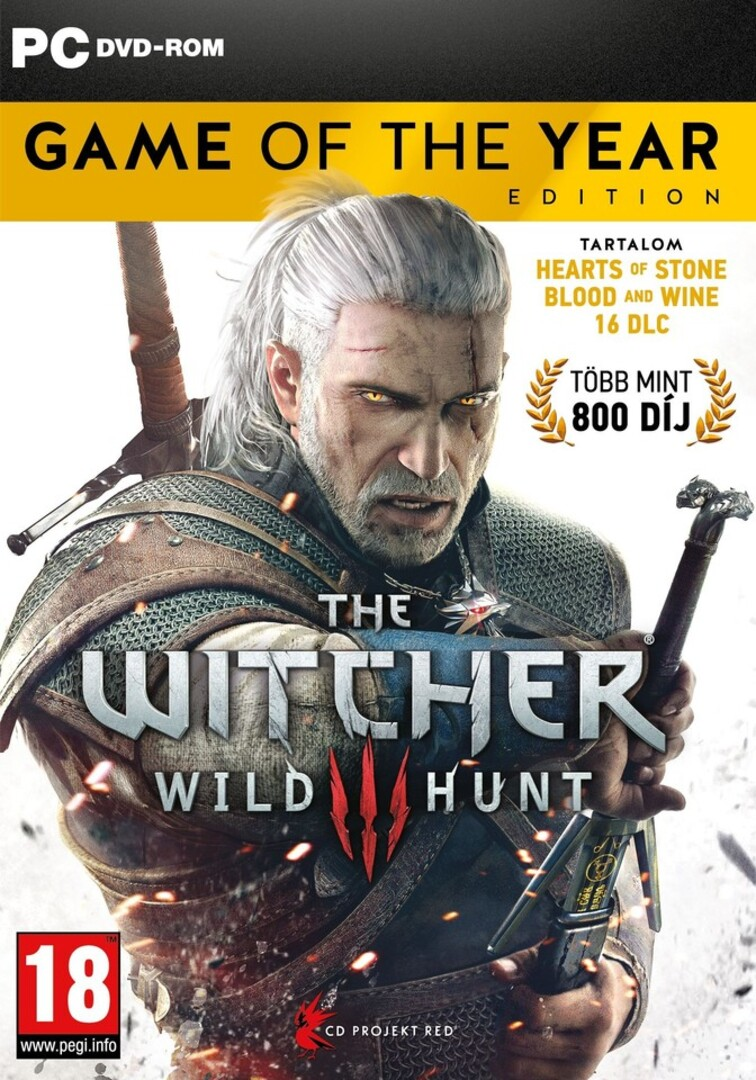 PC játék Witcher 3: Wild Hunt Game of the Year Edition borítókép