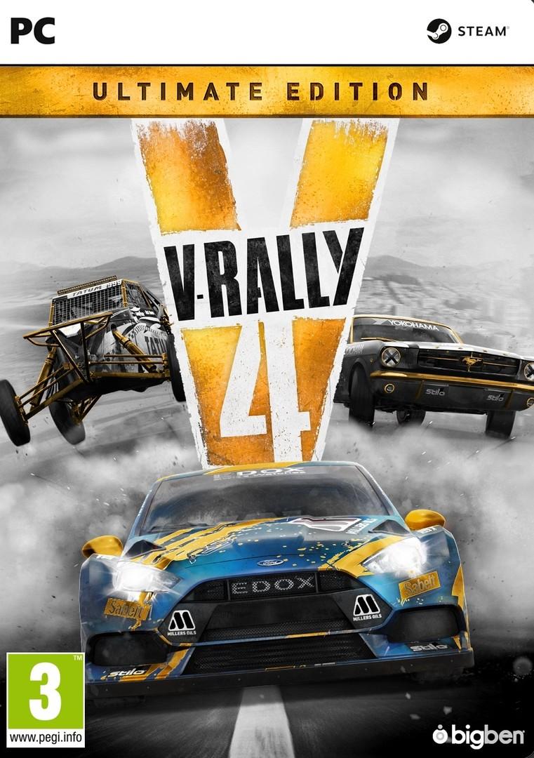 v rally 4 ultimate edition pc j t k 11990 ft 3499550369205. Black Bedroom Furniture Sets. Home Design Ideas
