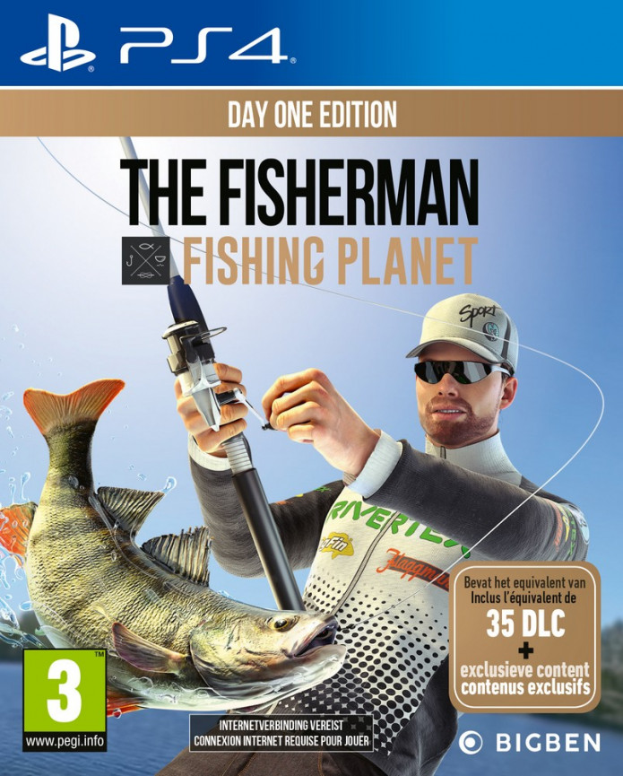 Playstation 4 Fisherman Fishing Planet borítókép