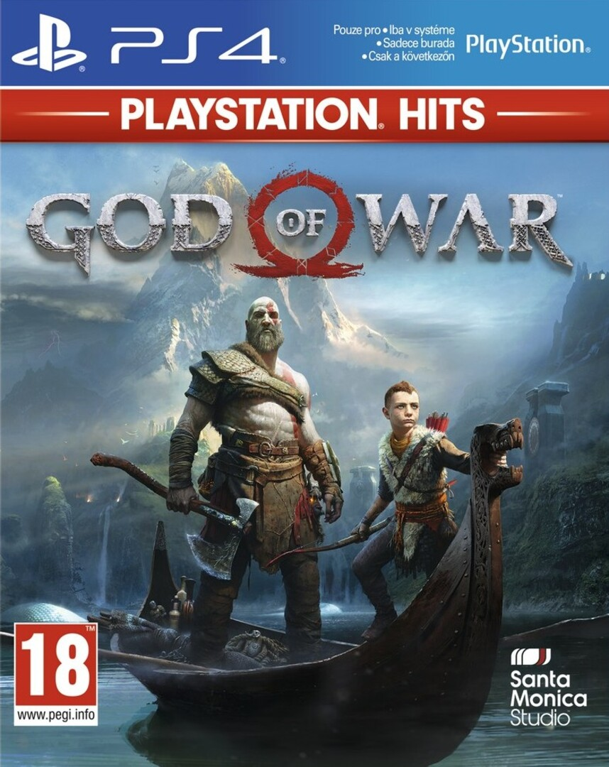 Playstation 4 God of War borítókép