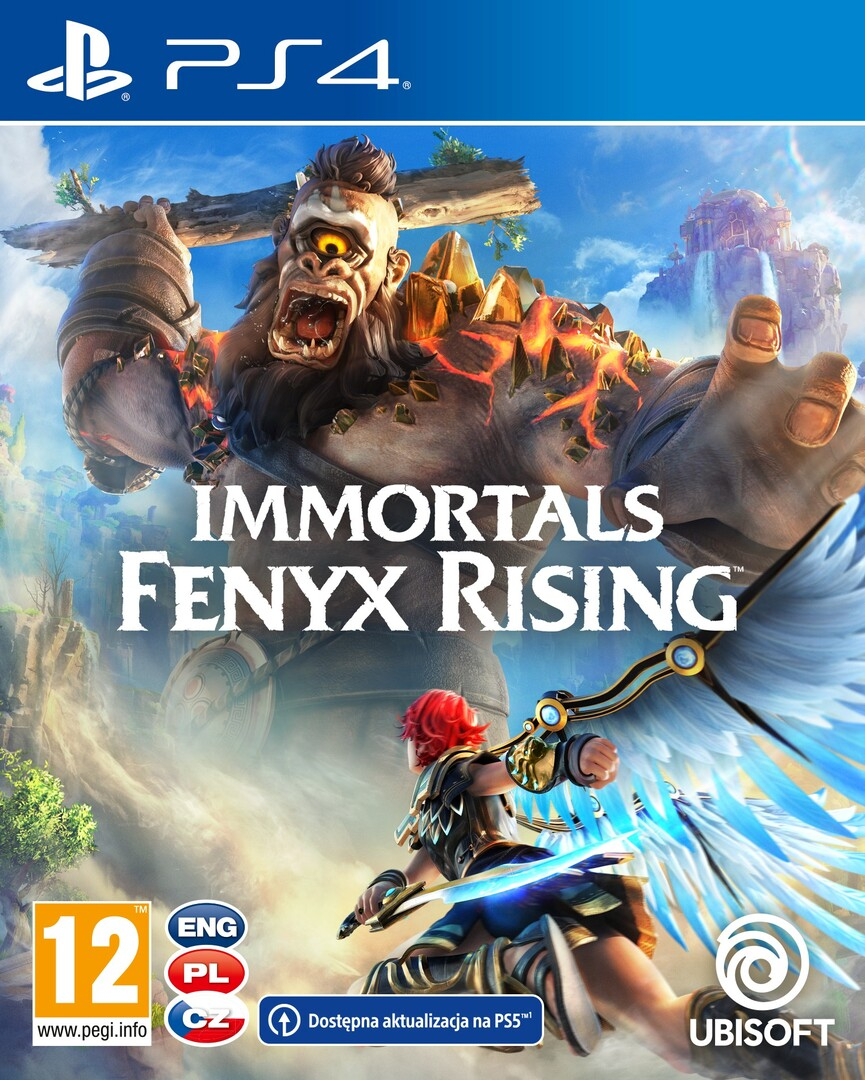 Playstation 4 Immortals Fenyx Rising (december 3.) borítókép