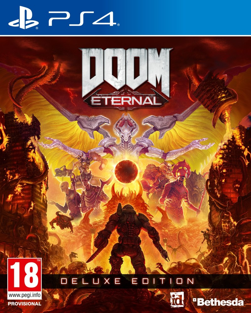 Playstation 4 DOOM Eternal Deluxe Edition borítókép