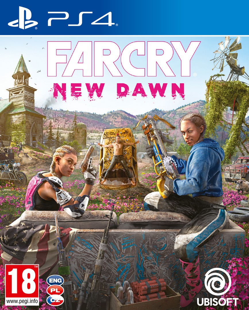 Playstation 4 Far Cry New Dawn borítókép