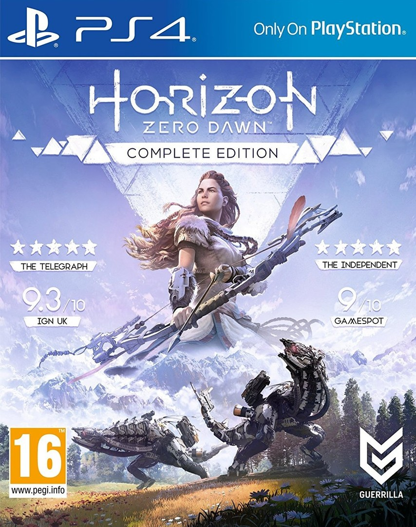 Playstation 4 Horizon: Zero Dawn Complete Edition borítókép