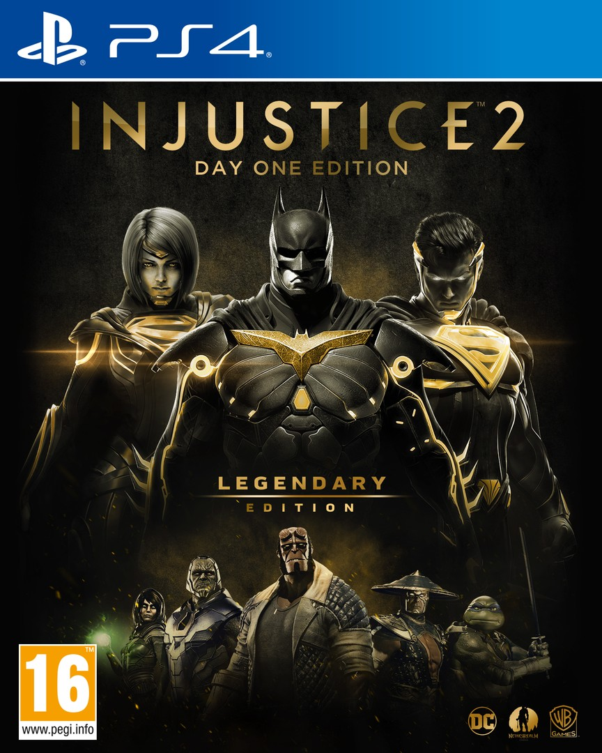 Playstation 4 Injustice 2: Legendary Edition (fémdobozos) borítókép