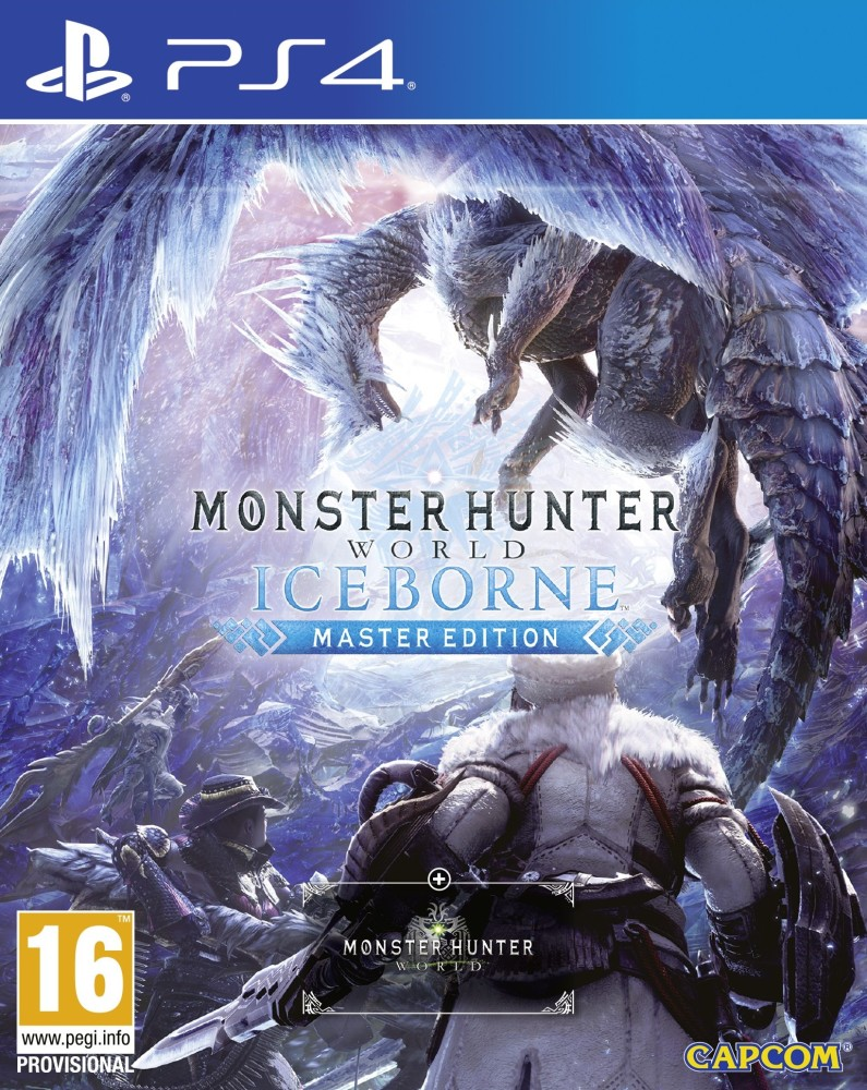 Playstation 4 Monster Hunter World Iceborne Master Edition borítókép