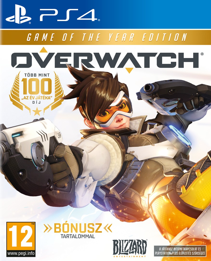 Playstation 4 Overwatch Game of the Year Edition borítókép