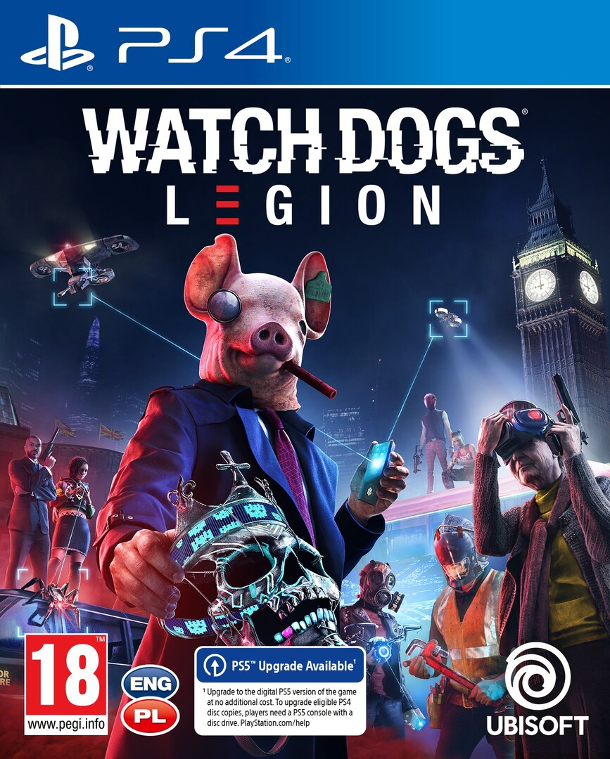Playstation 4 Watch Dogs Legion borítókép
