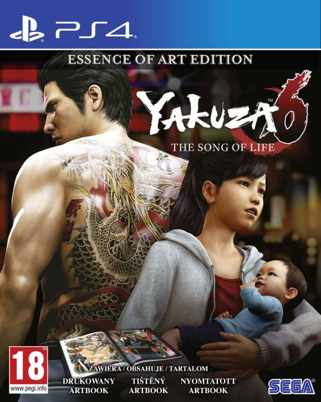 Playstation 4 Yakuza 6: The Song of Life - Essence of Art Edition borítókép
