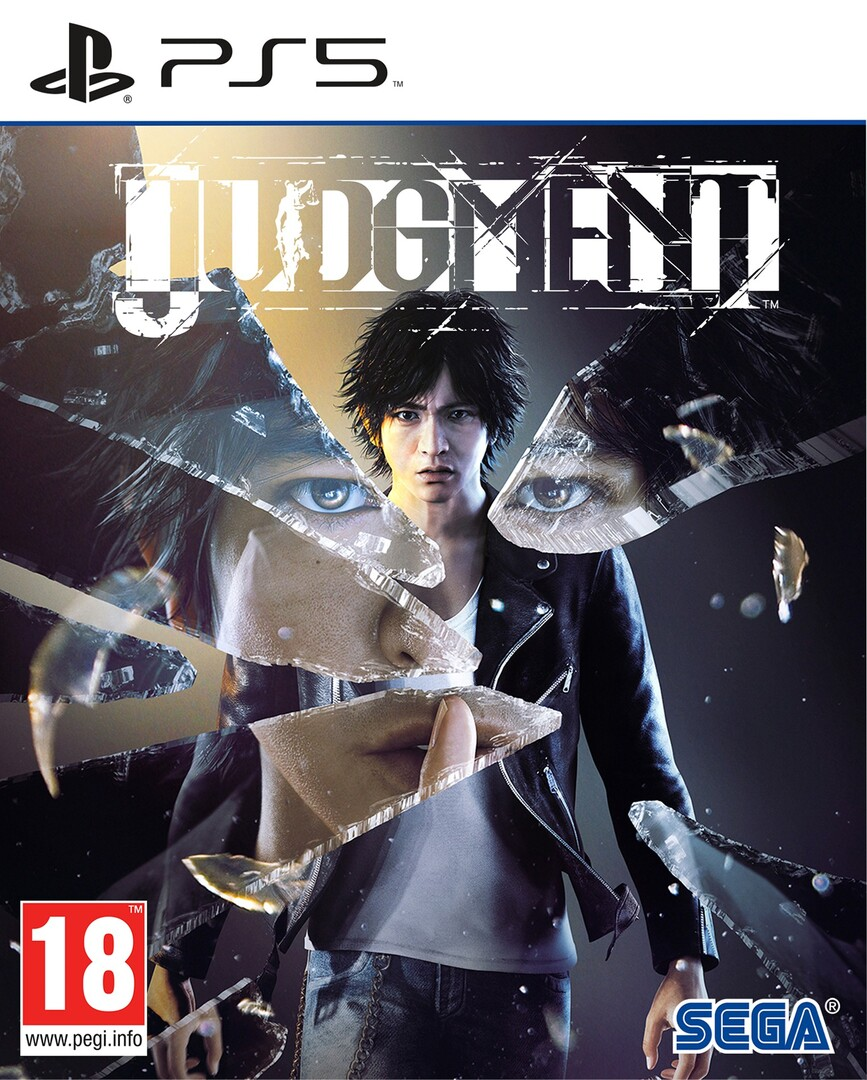 Playstation 5 Judgment borítókép