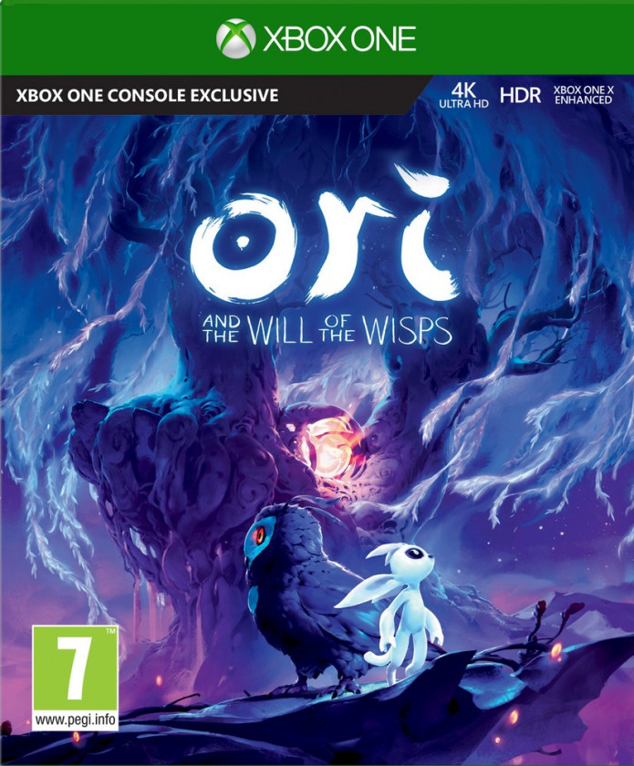 Xbox One Ori and the Will of the Wisps borítókép