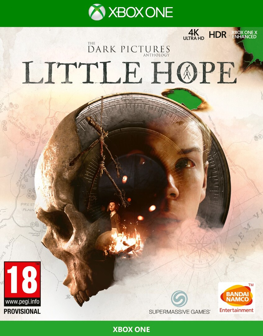 Xbox One The Dark Pictures Anthology Little Hope borítókép