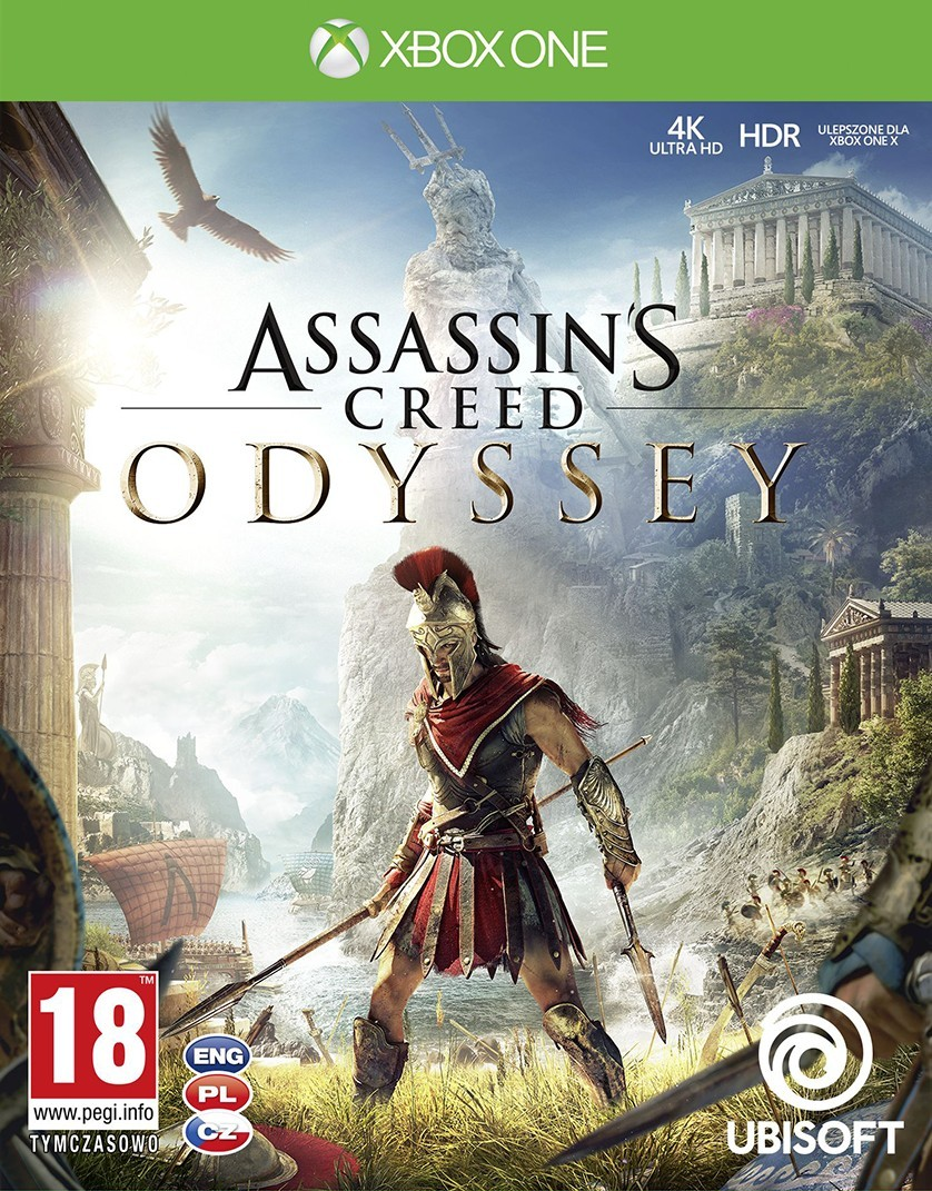 Xbox One Assassins Creed Odyssey borítókép