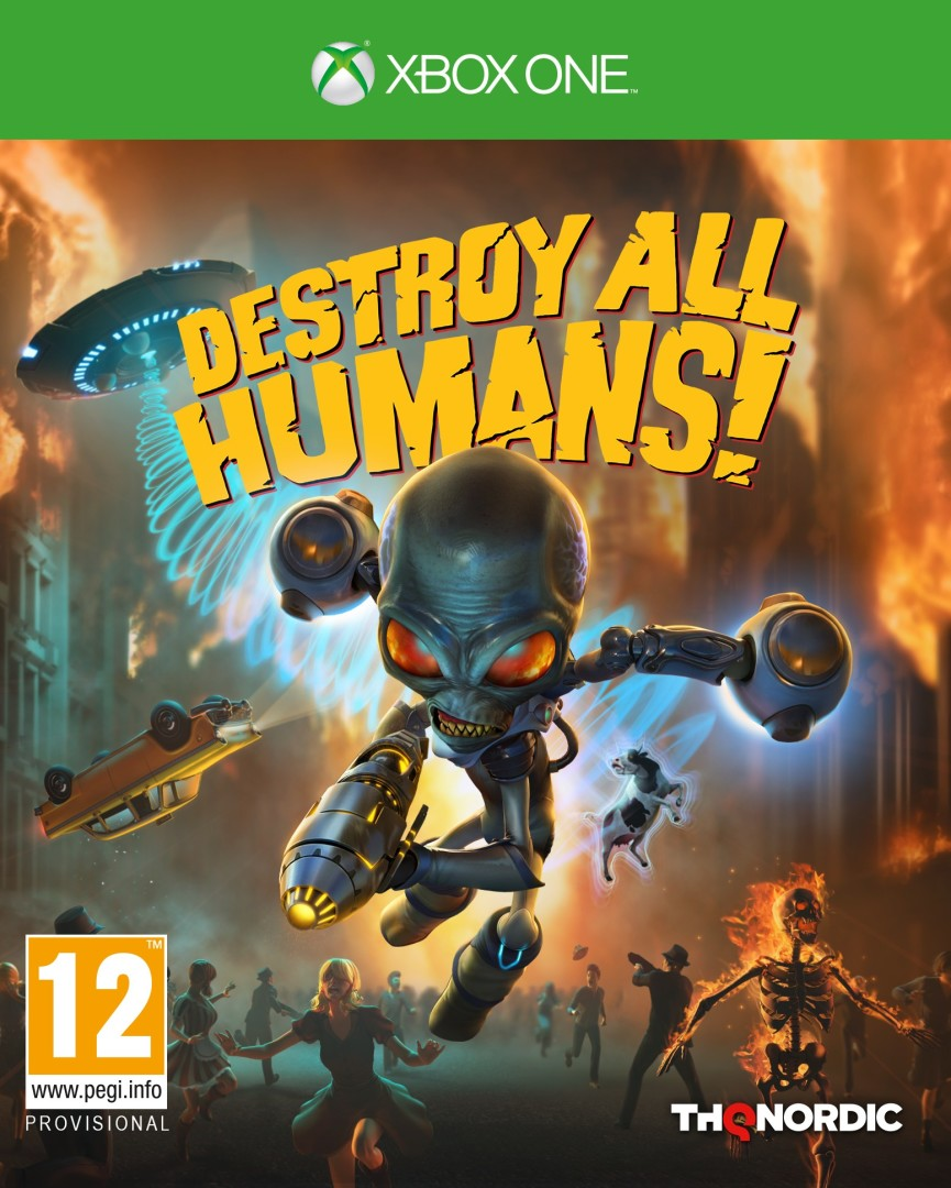 Xbox One Destroy All Humans (2020) borítókép