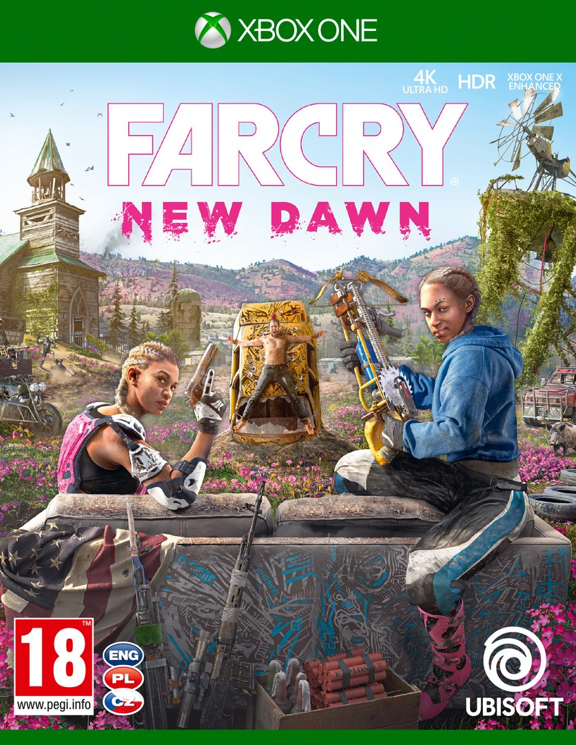 Xbox One Far Cry New Dawn borítókép
