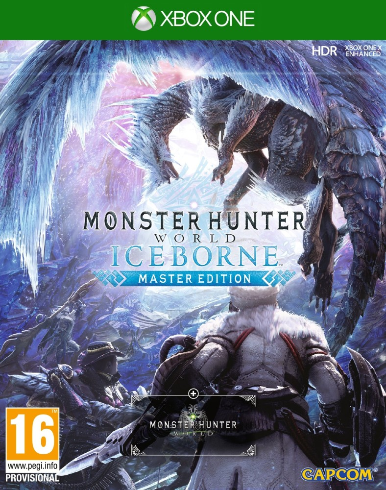 Xbox One Monster Hunter World Iceborne Master Edition borítókép