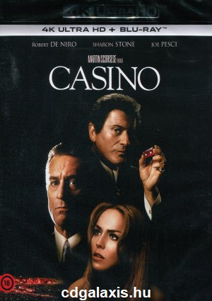 Film Blu-ray Casino 4K UHD + BLU-RAY
