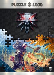 Játék The Witcher: Griffin Fight 1000 darabos puzzle
