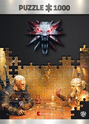Játék The Witcher: Playing Gwent 1000 darabos puzzle