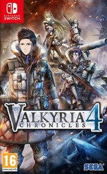 Switch Valkyria Chronicles 4