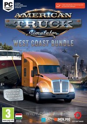 PC játék American Truck Simulator: West Coast Bundle
