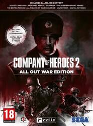 PC játék Company of Heroes 2 All Out War Edition